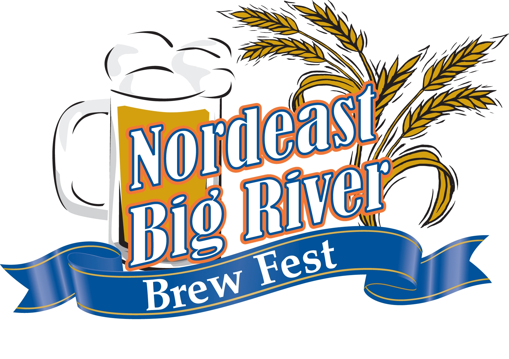 Nordeast Big River Brew Fest Logo
